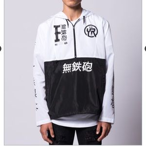 NWT Young & Reckless Graphic Windbreaker